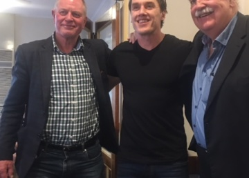 Anthony Koutoufides catches up with two other Carlton stars, Geoff Southby and Perc Jones.