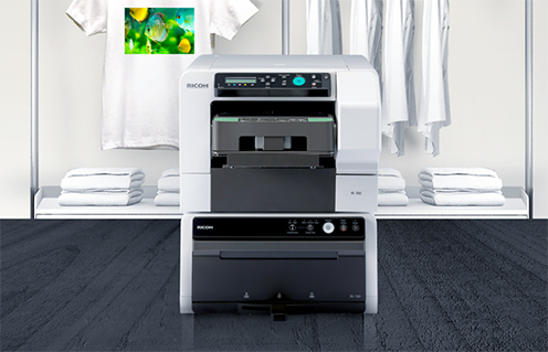 Ricoh launching low cost DTG printer - Sprinter