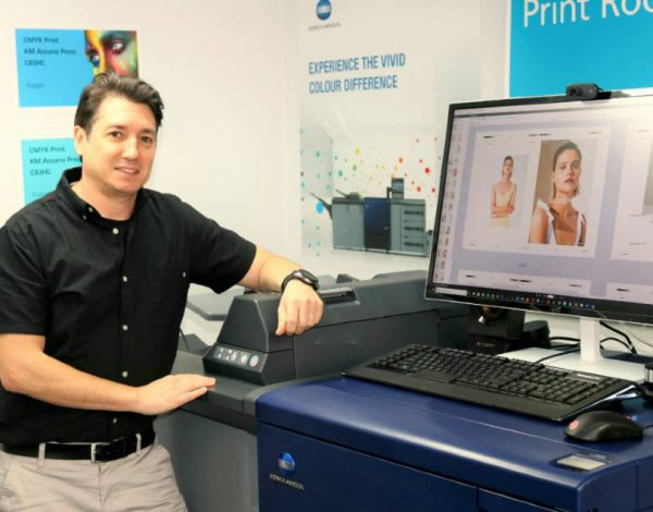 Picnic Print pops with Aust first Accurio high chroma