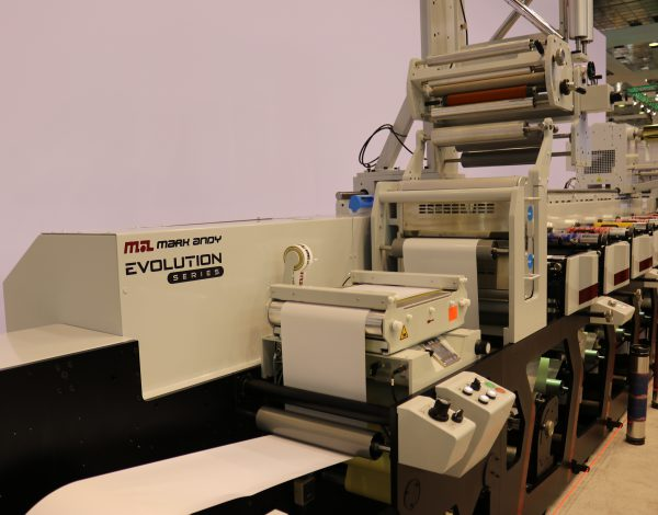 Mark Andy debuts Evolution Series at Labelexpo