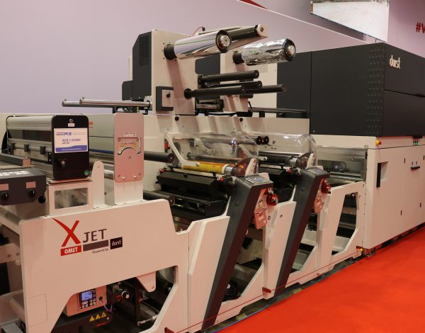 OMET showcases its XJet, powered by Durst