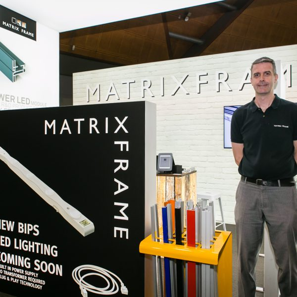 Matrix Frame – PrintEx19 Stand Highlights
