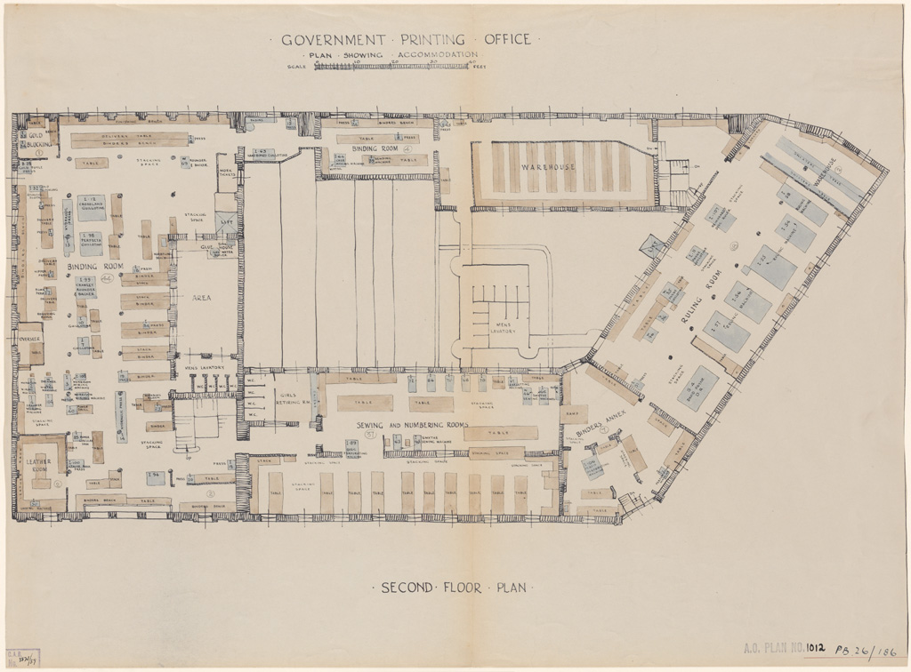 Plans of public buildings nsw state archives for How to get floor plans of an existing building