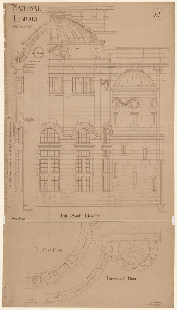 Plans Of Public Buildings Nsw State Archives