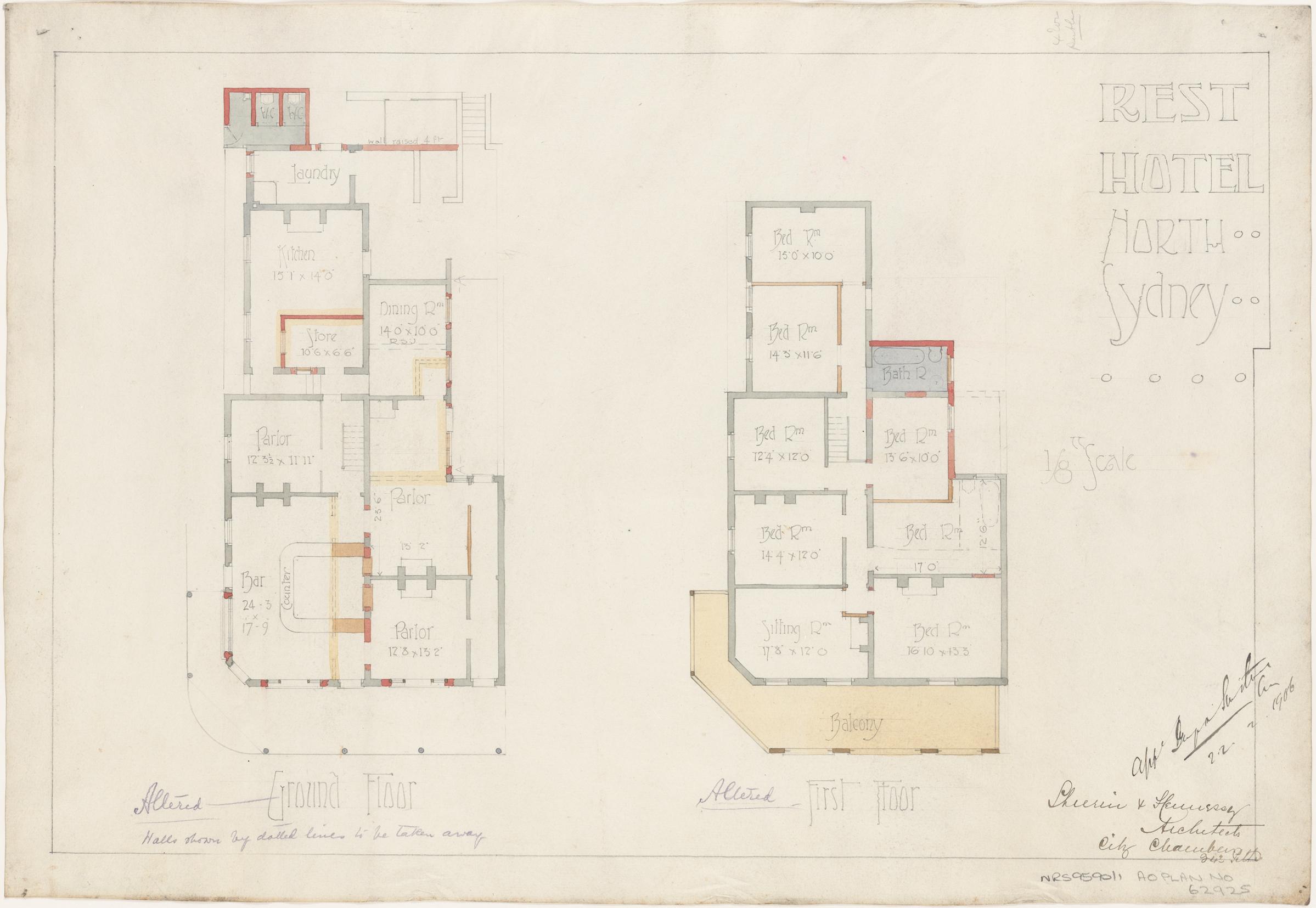 plans of licensed premises hotel plans metropolitan licensing
