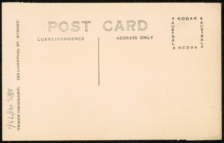 Photograph of Bruce McNeil Beith doctor [reverse]