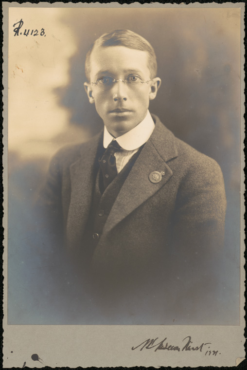 Photograph of Archibald Primrose Anderson-Stuart doctor [no date date on photograph 1921]
