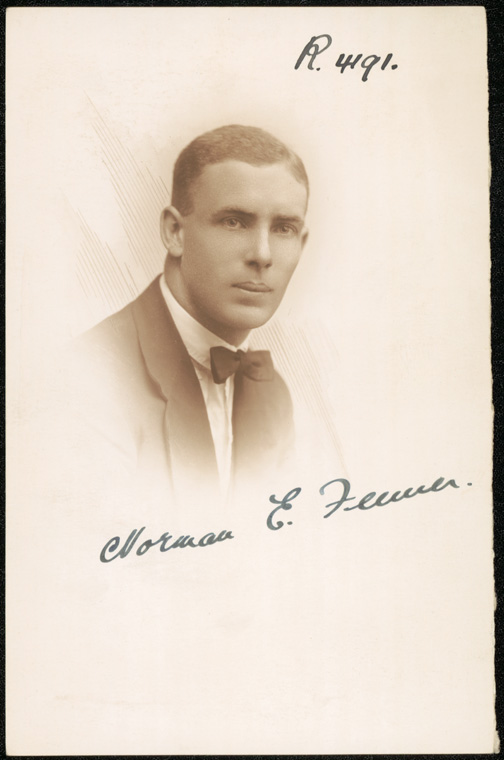 Photograph of Norman Edgar Feaner [Fenner] doctor [no date]