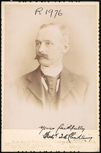 Photograph of Frederick Talbot Driffield Clindening doctor