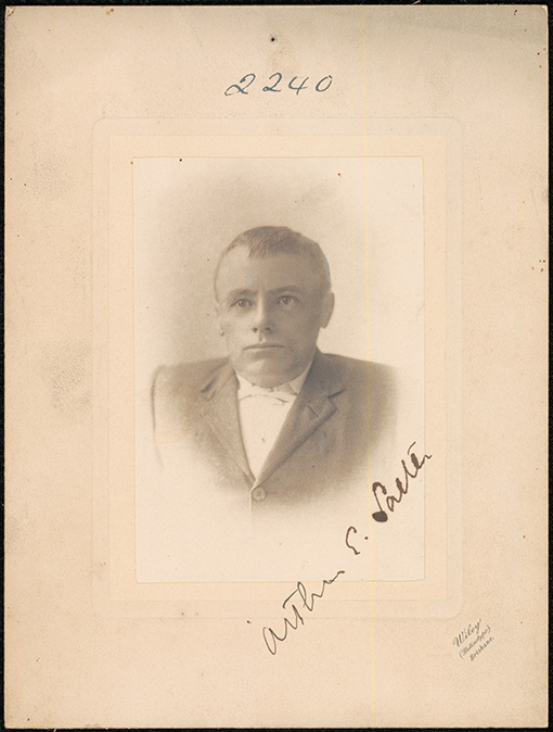 Photograph of Arthur Edward Salter doctor