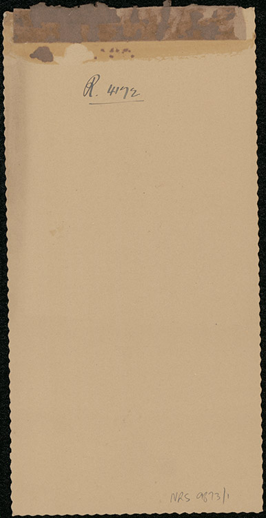 Photograph of Roy Patrick Joseph Dinley doctor [reverse]