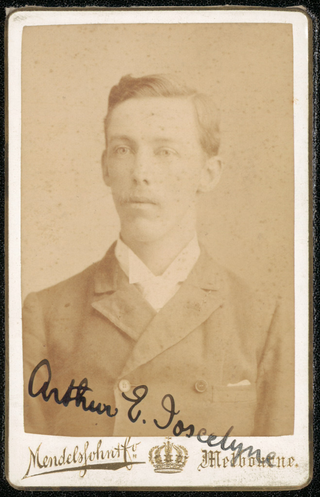 Photograph of Arthur Edwin Joscelyne doctor