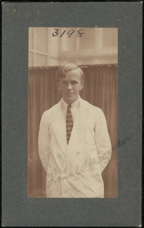 Photograph of Ronald Alan Archibald Macqueen doctor [no date]