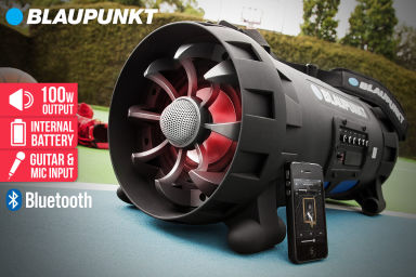 Blaupunkt Earthquake Portable Boombox!