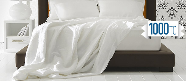 Hotel Quality 1000TC Sheet Sets