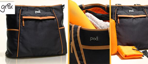 Gr8x Designer Pod Nappy Bag