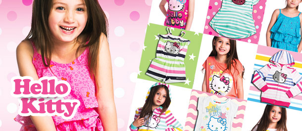 Hello Kitty Girls' Apparel!
