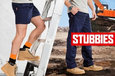 Stubbies Work Pants & Shorts