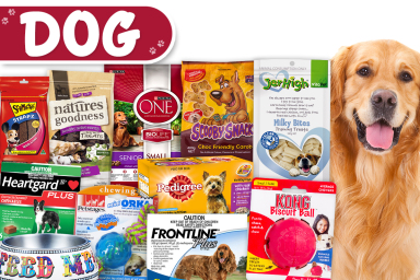 Big Brands For Your Pooch!
