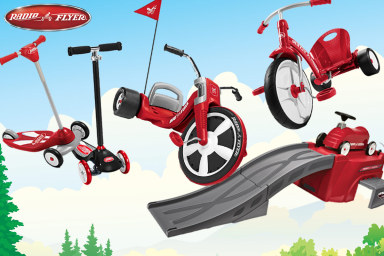 Radio Flyer Trikes, Scooters & More