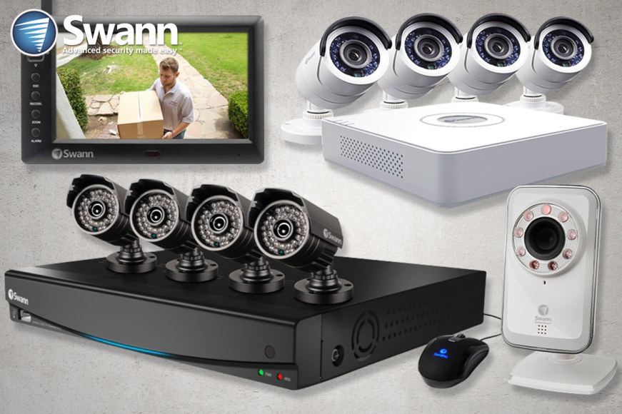 Swann Surveillance DVR & Camera Systems