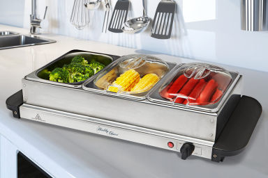 Three Tray Electric Food Warmer