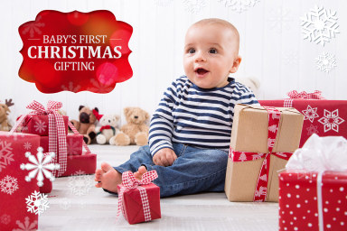 Baby's First Christmas - A Lil' Gift Guide!