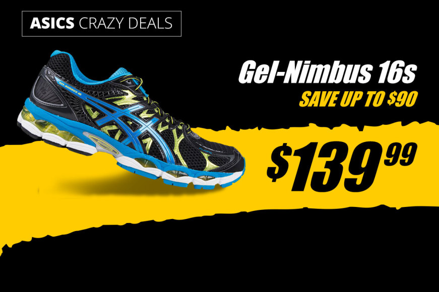 ASICS Nimbus 16 Clearout - All $139.99