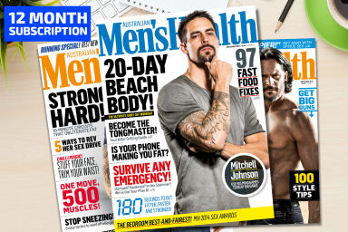 Men's Health 12-Month Subscription