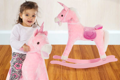 Kids' Rocking Unicorn