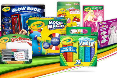 Crayola Colouring Activity & Markers
