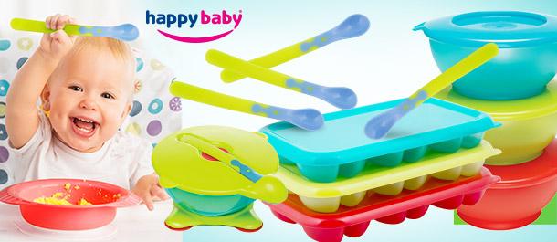 Happy Baby Smart Portions Feeding Range