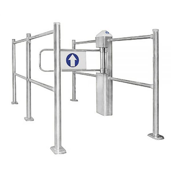 Single Aisle Auto Gates_1