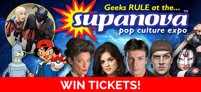 Here's Your Chance To Meet The Stars - We've Got 2 Double Passes Up For Grabs To Supanova 2016!