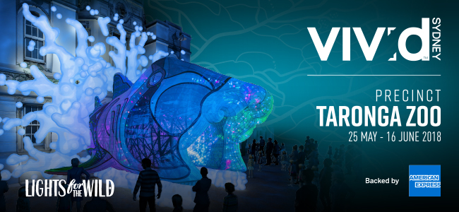 Vivid Sydney At Taronga Zoo Is In Full Swing - Don't Miss Your Chance To See It!