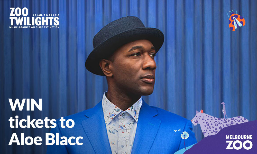 COMPETITION: Win Tickets To See Aloe Blacc At Zoo Twilights