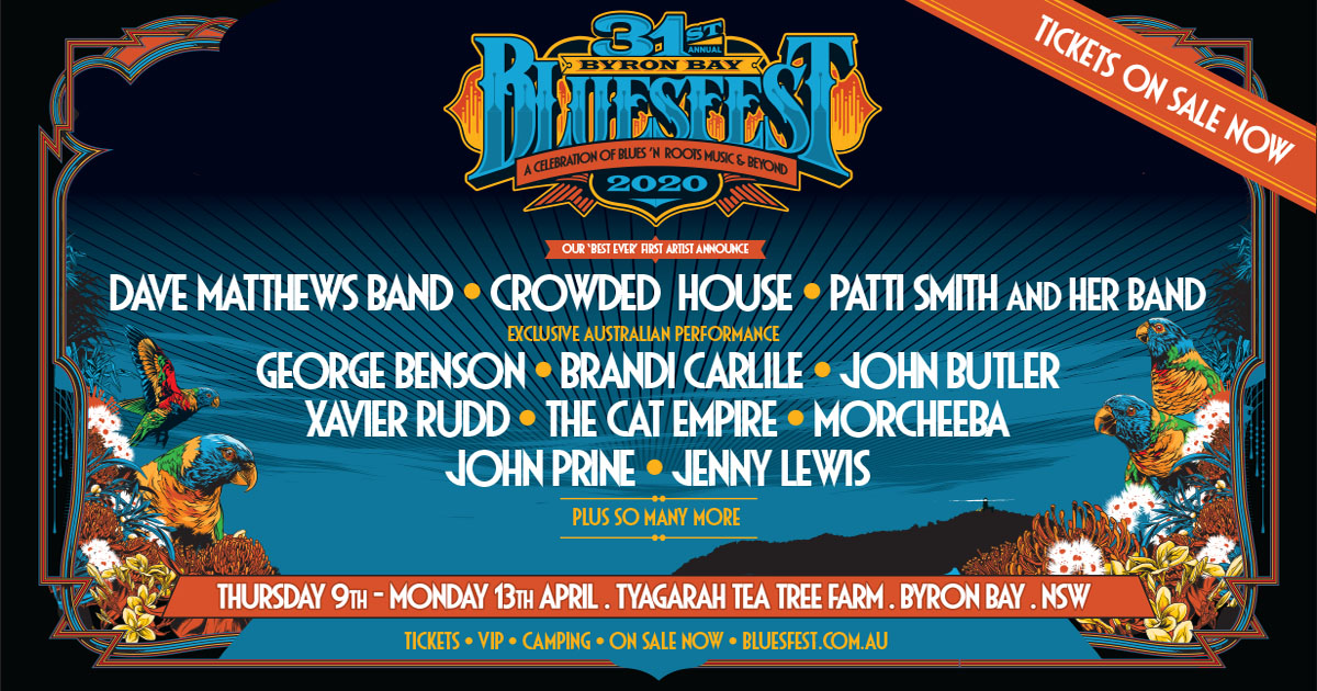 Bluesfest Announce First Acts For 2020