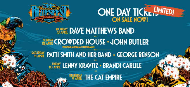 Bluesfest Releases Limited Reduced Priced Single Day Tickets For 2020