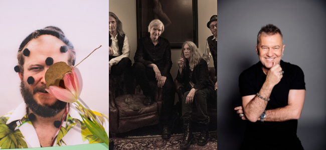 Bluesfest Announce First Artists For 2021 Featuring Bon Iver, Patti Smith And Jimmy Barnes