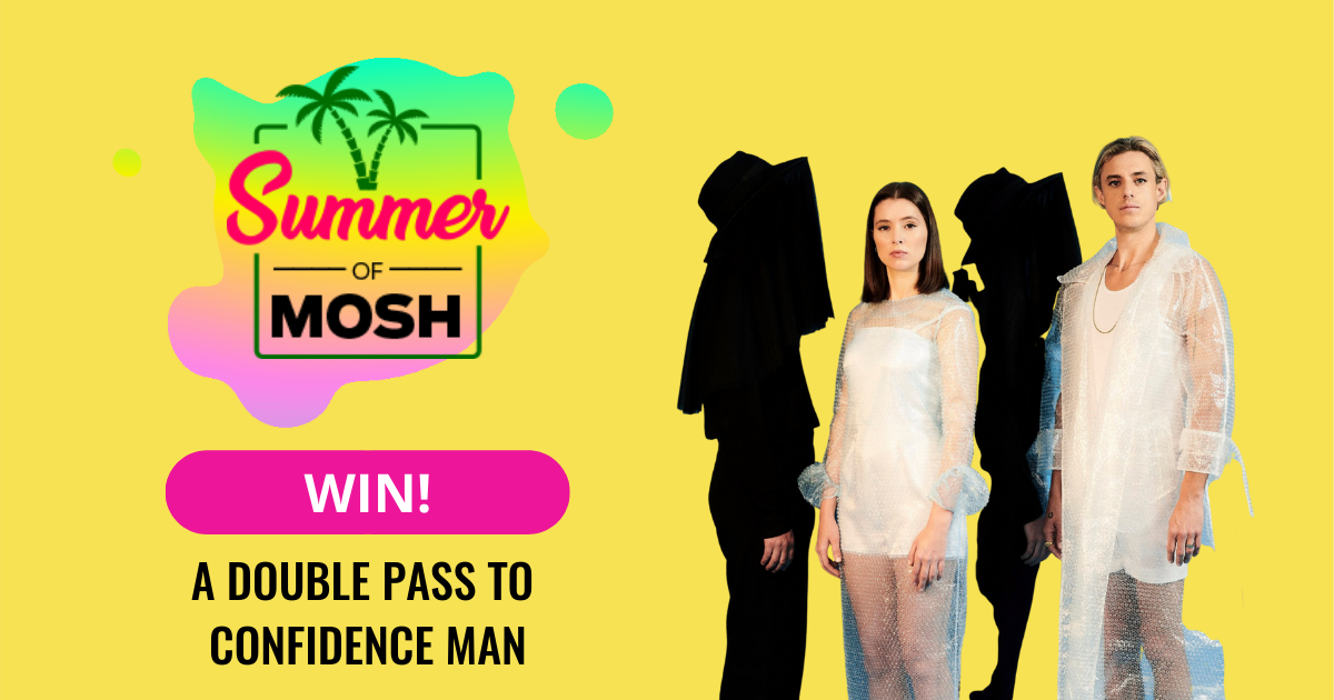 Win A Double Pass To See Confidence Man At Zoo Twilights!