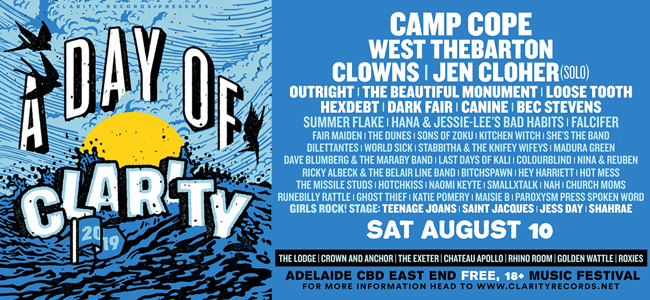 A Day Of Clarity Announces Lineup For 2019