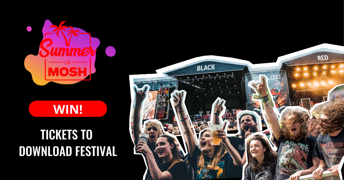 WIN: Tickets To Download Festival For You And Your Lover Or Best Mate