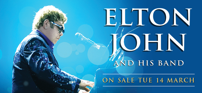 Here's Your Once In A Lifetime Chance To See Elton John!