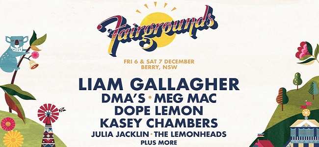 Fairgrounds Festival Announce Line-Up For 2019 Featuring Liam Gallagher