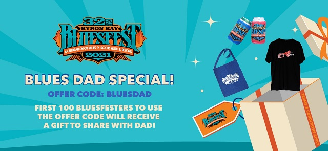 Bluesfest Father's Day Offer