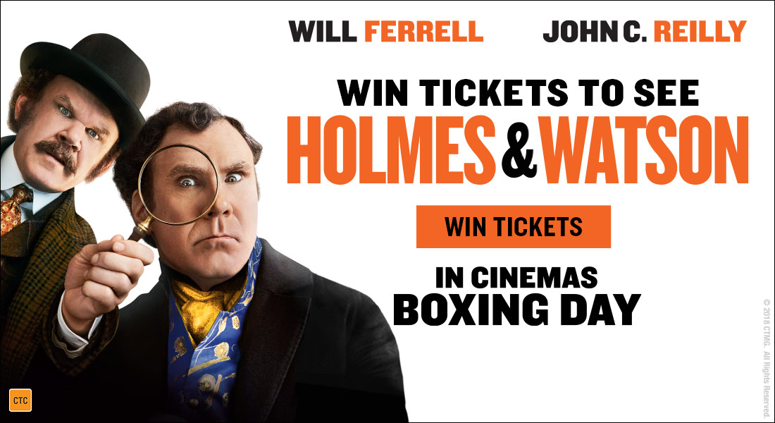 GIVEAWAY: Win Tickets to See New Movie Holmes & Watson