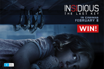 Win A Double Pass To See The Terrifying New Horror Movie INSIDIOUS: THE LAST KEY