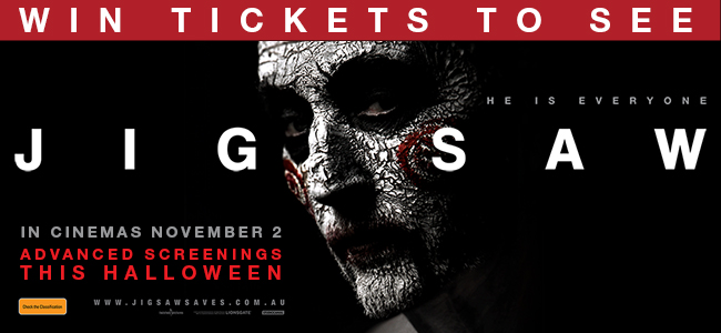JIGSAW Creeps Into Cinemas Nov 2 - WIN A Double Pass To See It!