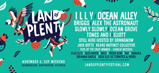 Land Of Plenty Reveal Full Lineup for 2019