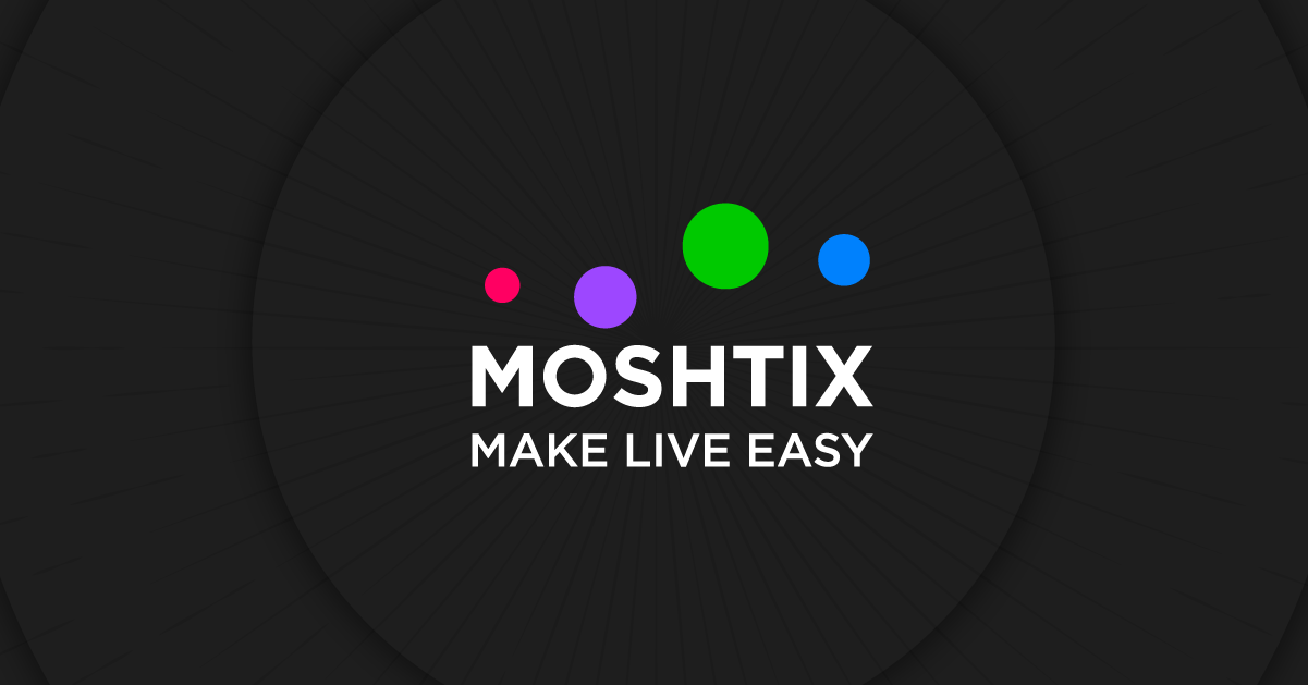 Introducing The Refreshed Moshtix Branding!
